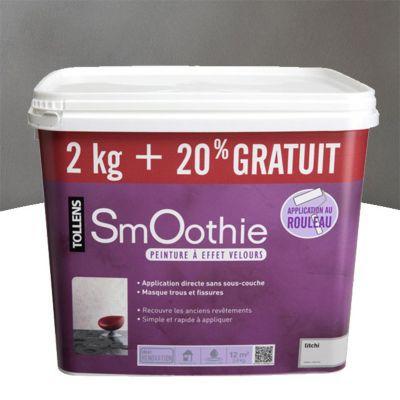 Peinture effet smoothie rmd decoration poivre 2kg 20 - Peinture a effet castorama ...