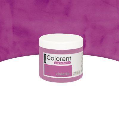 Colorant Peinture Décorative Smoothie Violette 200g Castorama