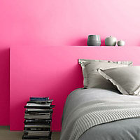 Peinture murs et boiseries Tollens Pantone 18-2043 raspberry sorbet satin 2L