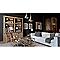 Peinture Murs et boiseries Poivre noir Mat 2L
