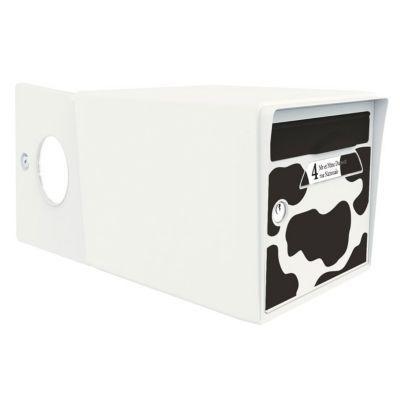 boite aux lettres 2 portes blanc ivoire vachement belle. Black Bedroom Furniture Sets. Home Design Ideas