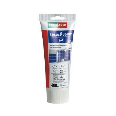 Colle et joint carrelage mur int rieur parexlanko blanc for Parexlanko colle et joint