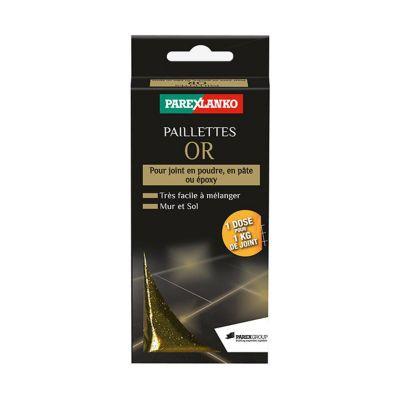 Paillettes Pour Joint Or Parexlanko 30g Castorama