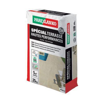 Colle Spéciale Terrasse PAREXLANKO Beige 25kg | Castorama. Inspirations De Conception