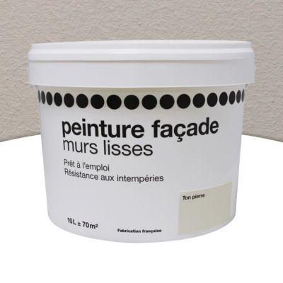 Peinture Façade Ton Pierre 10l Castorama