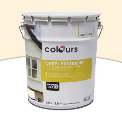 peinture cr pi ext rieur colours ton pierre 5kg castorama. Black Bedroom Furniture Sets. Home Design Ideas