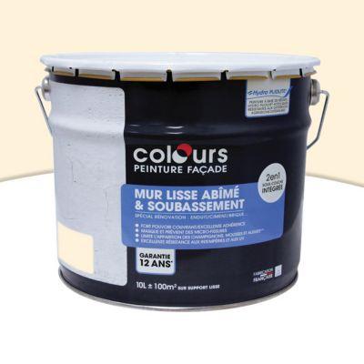 Peinture Façade 2 En 1 Colours Ton Pierre 10l Castorama