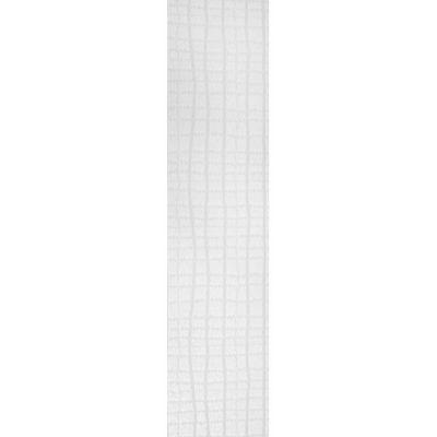 5 lamelles pour store californien MADECO Croco blanc 280 cm