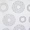 Panneau japonais Madeco enduit dévoré blanc 45 x 260 cm