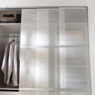 Panneau Japonais Madeco Barre Blanc 45 X 260 Cm Castorama