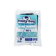 6 sacs poubelle à gravats renforcés 50L