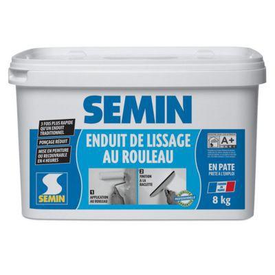 Enduit De Lissage Au Rouleau Semin 8Kg | Castorama