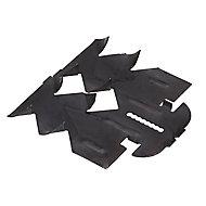 100Suspentes Hourdis noir 7 x 7.2 x 1 cm