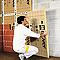 Panneau isolant laine de verre Isover PB38 - 0,6 x 1,35 m ép.45 mm R. 1,2m²K/W (vendu par lot de 16 panneaux)