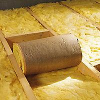 Rouleau laine de verre Supralaine 4,50 x 1,20 m ép. 200 mm R. 5m²K/W (vendu au rouleau)