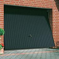 Porte de garage basculante GSL anthracite - L.240 x h.200 cm (pré-montée)