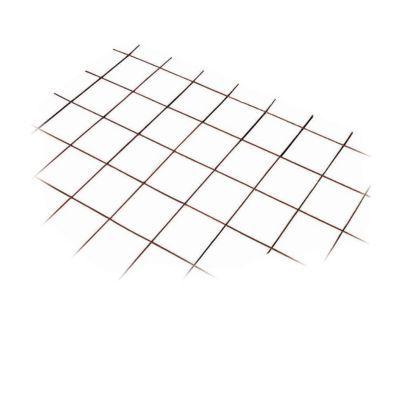 Panneau treillis soud maille 200 x 200 mm 1 2 x 2 4 m castorama - Treillis soude maille 50x50 ...