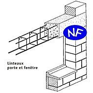 Chaînage carré CH2 10 x 10 cm L.3 m