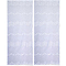 Vitrage Holly blanc 65 x 130 cm