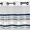 Voilage L'Envol Du Decor Shelton bleu 145 x 245 cm