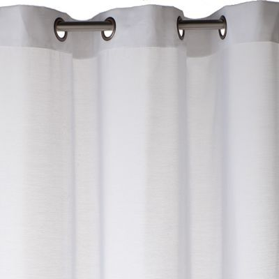 voilage colours olympe blanc 140 x 240 cm castorama. Black Bedroom Furniture Sets. Home Design Ideas