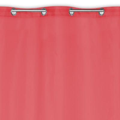 Voilage Newpastel rouge 140 x 240 cm