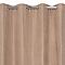 Rideau velours occultant thermique camel 135 x 240 cm