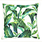 Coussin Lyrata vert 40 x 40 cm