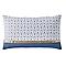 Coussin Joly bleu 30 x 50 cm