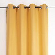 Rideau thermique stop cold jaune 135 x 240 cm
