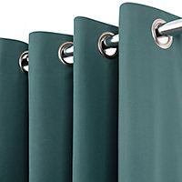 Rideau occultant thermique vert 135 x 240 cm
