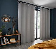 Rideaux 135 x 240 cm ezo gris clair