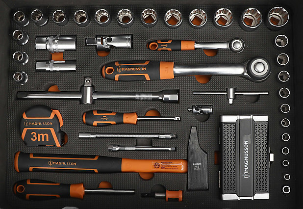 Mallette A Outils 119 Pieces Magnusson Castorama