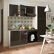 Cuisine complète anthracite All in