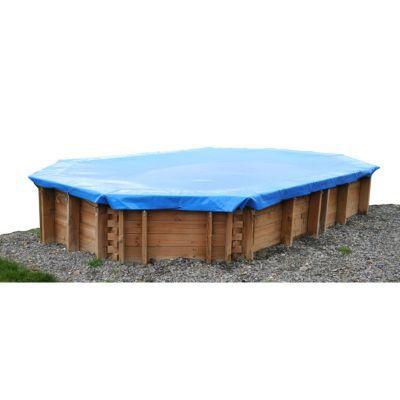 Bâche d'hivernage SUNBAY pour piscine Blanca, 8,72 x 4,72 m