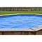 Bâche été à bulles pour piscine Lunda ø4,12 m