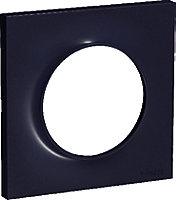 Plaque 1 poste Schneider electric Odace Anthracite