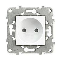 Mécanisme prise 2 pôles SCHNEIDER ELECTRIC blanc