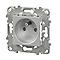 Mécanisme prise 2 pôles+terre SCHNEIDER ELECTRIC aluminium