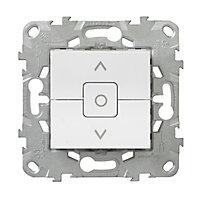 Mécanisme interrupteur de volet roulant SCHNEIDER ELECTRIC blanc