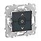Mécanisme interrupteur de volet roulant SCHNEIDER ELECTRIC anthracite