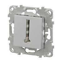 Mécanisme prise de téléphone SCHNEIDER ELECTRIC aluminium