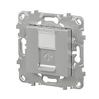Mécanisme pour prise RJ45 CAT6 Schneider Electric Unica Aluminium