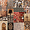 Image Patchwork Oriental 75 x 75 cm
