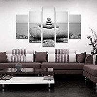 Set de 5 toiles Ponton 102 x 156 cm