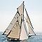 Image encadrée Voile 35 x 35 cm