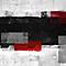 Toile imprimée Rectangles 80 x 60 cm