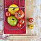 Toile imprimée Tomates 30 x 30 cm