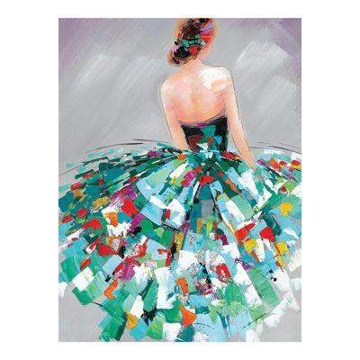 Affiche Peinture Danseuse 30 X 40 Cm Castorama