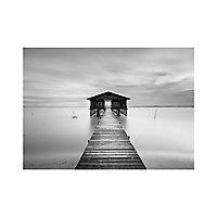 Affiche Jetée Lac 30 x 40 cm